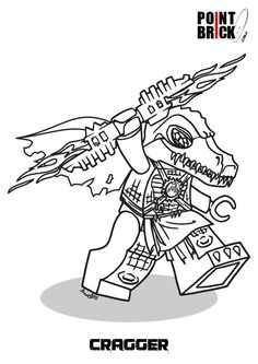 coloring page lego chima - cragger | girl bedroom | pinterest ... - Lego Chima Gorilla Coloring Pages