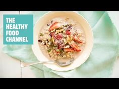 Instant Bircher Muesli with Apple by Nadia Lim