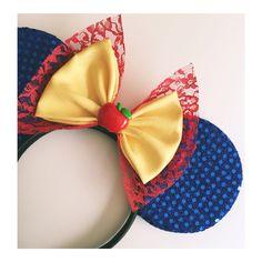 Snow White. Custom mouse ears