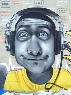 Characters By Xkuz - Bornel (France) - Street-art and Graffiti | FatCap