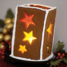 Gingerbread Lantern - betcha these smell amazing!