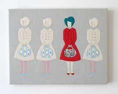 Laura's work is just amazing... !: I was different ~ Laura Amiss