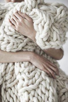 Love. The chunkiest coziest blanket ever.