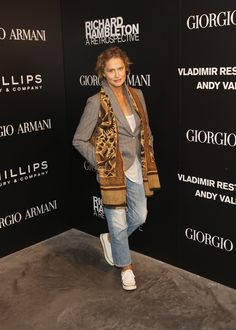 LAUREN HUTTON - 50 Women Who Prove Personal Style Gets Better With Age | StyleCaster