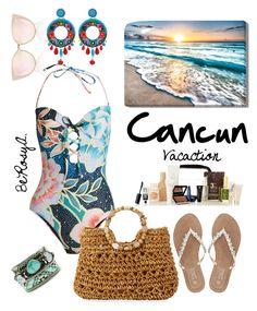 """Vacation"" by ahumadarosy on Polyvore featuring Mara Hoffman, M&Co, Cappelli Straworld, Ayala Bar and Hipanema"