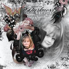 """Kit """" Blush and Black """" by Angel´s Designs @ Scrapbookbytes Photos by Sandra http://scrapbookbytes.com/store/manufacturers.php?manufacturerid=252"""