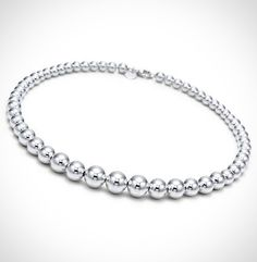 National DealTicker deal of the day: $9 for a Sterling Silver Tiffany & Co. Inspired Beaded Ball Necklace