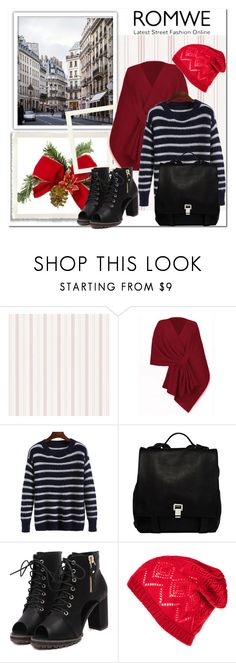 """""""Romwe 8/7"""" by amelaa-16 ❤ liked on Polyvore featuring Proenza Schouler"""