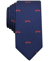 Bar III Men's Auto Neat Skinny Tie, Only at Macy's