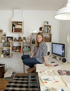 Serena Mitnik-Miller shot by Leslie Williamson in her home studio. http://lesliewilliamsonphoto.blogspot.com/2011/04/serena-mitnik-millerstudio_28.html http://www.lesliewilliamson.com/