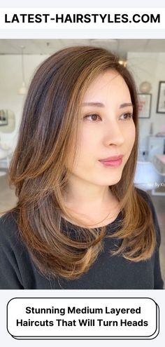 See these incredibly cute medium layered haircuts and hairstyles. #5 is our favorite and a MUST see! But I think you'll love them all! (Photo credit Instagram @hairbykisha_a) Haircuts For Long Hair With Layers, Medium Length Hair Cuts With Layers, Medium Layered Haircuts, Medium Hair Cuts, Latest Hairstyles, Hairstyles Haircuts, Beauty Guide, Beauty Hacks, Photo Credit