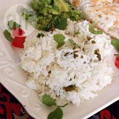 Arroz blanco al limón @ allrecipes.com.mx