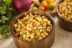 Favorite Recipe from New Harambe Market at Disney's Animal Kingdom - Chickpea Salad #disneyrecipes