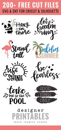 Free cut files for the silhouette or cricut machines Cricut Svg Files Free, Free Svg Cut Files, Free Cut Files For Silhouette, Cricut Fonts, How To Use Cricut, Cricut Tutorials, Cricut Ideas, Cricut Project Ideas, Cricut Vinyl Projects