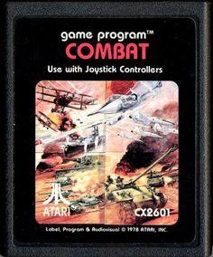 Combat mi primer video juego del cual era y soy dueño año 1983 si mal no recuerdo- Combat my first owned video game. Arround year 1983 (if im not wrong ).