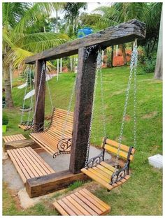 60 Amazing DIY Outdoor Projects Furniture Design Ideas – Diy Project - back yard diy projects Diy Garden Furniture, Furniture Ideas, Rustic Furniture, Modern Furniture, Antique Furniture, Designer Outdoor Furniture, Outside Furniture, Furniture Buyers, Furniture Outlet