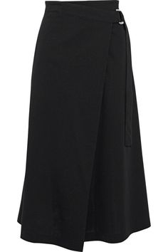 + adidas cotton-blend wrap skirt | Y-3 | Sale up to 70% off | THE OUTNET Designer Kurtis, Fashion Sewing, New Fashion, Womens Fashion, Long Skirt Fashion, Skirts For Sale, Hijab Outfit, Elegant Outfit, Rock