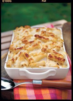 Over-the-Top Three-Cheese Pasta Bake