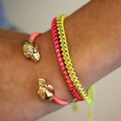 ModeMusthaves - Neon BFF Bracelets - ModeMusthaves