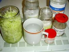 Jak připravit okurkový salát do sklenic   recept   jaktak.cz Mason Jars, Mugs, Tableware, Dinnerware, Tumblers, Tablewares, Mason Jar, Mug, Dishes