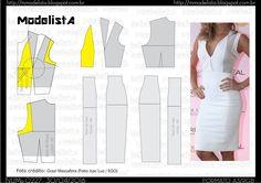 ModelistA: A3 NUMo 0227 DRESS WHITE