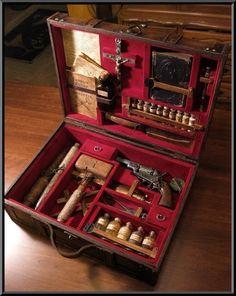 Medieval vampire hunting kit