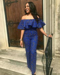 African jumpsuit,ankara jumpsuit,african women clothing/african print romper/ankara women clothing/ankara dress/african dresses for women African Print Jumpsuit, African Print Dresses, African Dresses For Women, African Wear, African Attire, African Fashion Dresses, African Women, African Style, Fashion Outfits