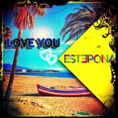 ESTEPONA LOVE YOU  by diseclick.com