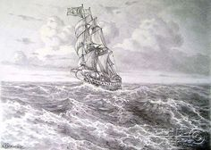 pencil drawings of landscapes - Google Search