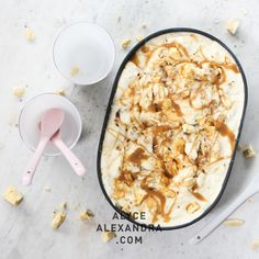 Hokey pokey ice cream is one of our favourites because it's so full of delicious contrasting flavours and textures, with lots of crumble and crunch. Four kinds of dairy make an exceptionally creamy concoction, while a mixture of honeycomb, brown sugar and golden syrup make a sensationally sw