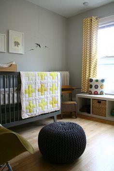 Progress Report: The New Kid's Room — Deuce Cities Henhouse - love this quilt!