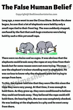 This is one of the best stories for storytelling competition with moral for children. Long, long ago, a man went to see the Circus Show. Stories With Moral Lessons, English Moral Stories, Short Moral Stories, English Stories For Kids, Learning English For Kids, English Worksheets For Kids, English Story, English Lessons For Kids, Small Story With Moral