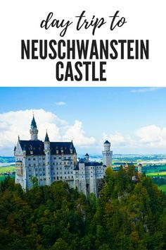 Day Trip to Visit Neuschwanstein Castle from Munich! neuschwanstein castle interior and exterior Germany! Munich travel things to do - Germany bucket list. fairy tales castles of the world. bavaria travel  ☆☆ Travel Guide / Ideas by #Inspiredbymaps ☆☆