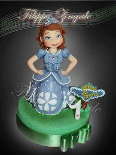 #sugarcake #birthdaycake #cakedesigne #topper #princesscake