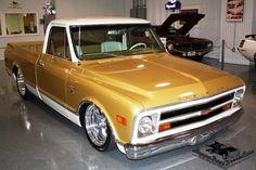 custom trucks and accessories C10 Trucks, Chevy Pickup Trucks, Classic Chevy Trucks, Lifted Trucks, Chevrolet Trucks, Classic Cars, 1968 Chevy Truck, Chevy C10, Chevy Pickups