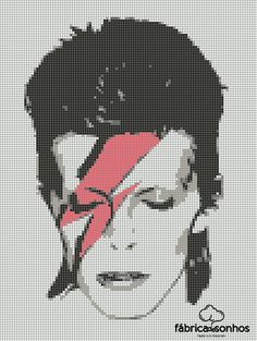 #Bowie #CrossStitch