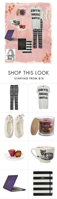 """""""fall mornings"""" by elizzy1202 on Polyvore featuring Rothko, DKNY, Topshop, Aéropostale, GE, SONOMA Goods for Life, Sir/Madam, Speck and Kate Spade"""