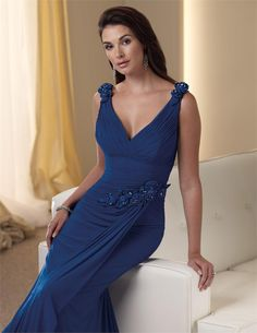 Montage - Beautiful Blue Gown