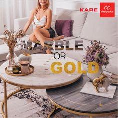 Υιοθετήστε αυτό τον πολυτελή συνδυασμό στο σπίτι σας. Ανακαλύψτε την premium συλλογή της KARE... Marble, Interior Design, Home, Nest Design, Home Interior Design, Interior Designing, Ad Home, Granite, Marbles