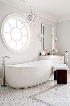curvy bathtub