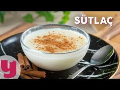 The platform where we share the best and most accurate recipes of Turkish sweets. Try new desserts with us Granulated Sugar, Powdered Sugar, Mary Berry Desserts, Recipe Mix, Rice Flour, Pudding Recipes, Iftar, Glass Of Milk, Serving Bowls