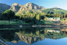 Guest House - Cathbert Country Inn. Come and Restore, Renew & Recuperate body, mind & spirit in the peaceful surroundings of Cathbert Country Inn,  just outside #Franschhoek (Cape Winelands, South Africa).