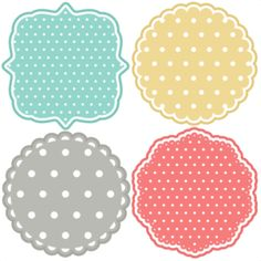 Polka Dot Backgrounds SVG scrapbook title backgrounds svg cut file backgrounds svg cut files for cricut cute svgs free Más