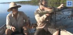 Nothing like scaring the hell out of fishermen.