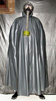 Mackintosh Raincoat, Rain Cape, Rubber Raincoats, Gas Masks, Rain Wear, Capes, Passion, Plastic, Touch