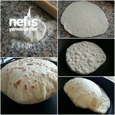 Balloon Breads in the Pan - Yummy Recipes - Maria Home Bread Recipes, Cake Recipes, Cooking Recipes, Yummy Recipes, Breakfast Items, Turkish Recipes, Bread Baking, Fun Desserts, Tapas