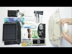 FIND OUT HOW to keep your purse organized!!! The Grace Adele Intelligent Interior™ - What's In My Bag - YouTube visit us at www.purseonalizeit.com