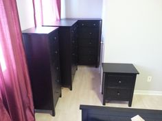 Three Dressers and a Night Table