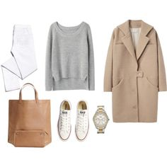 29 Trendy How To Wear Converse In Winter Minimal Classic Mode Outfits, Fall Outfits, Casual Outfits, Fashion Outfits, Womens Fashion, Fashion Trends, White Outfits, Milan Fashion, Minimal Chic