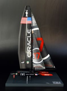 I want this!!!!! ORACLE TEAM USA '17' desk model by Abordage http://www.abordage.com/oracle-team-usa-17.html